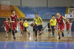 Se inició baloncesto de liga menor
